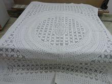 Handmade Applique Cotton Cutwork Bedspread