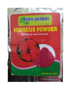 dry hibiscus flowers powder