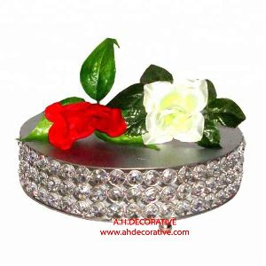 Crystal Round Cake Plate