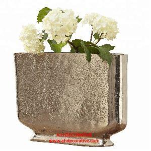 Metal Table Flower Vase