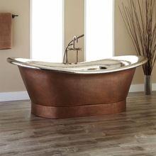 Metal Copper Bath Tub