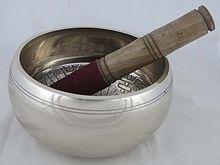 Silver Brass Bowl