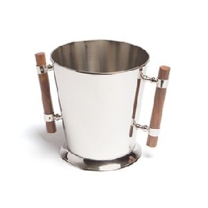 Wooden Handle Wine Bucket