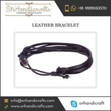 Leather Stud Bracelets