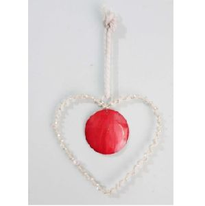 Christmas Hanging Ornaments Heart New