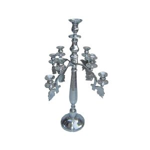 Metallic Candle Holder