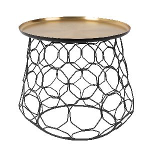 Brass Colour Coffee Table