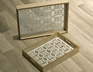 Hotel Wooden Serving Trays