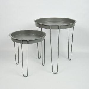 Iron Gray Colour Metal Table