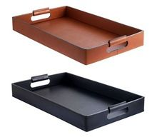 Restaurant Leather Serving Tray