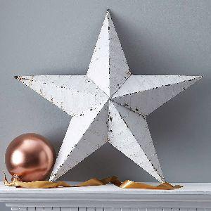 Wall Hanging Metal Barn Star