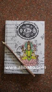 Handmade Paper Diary With Neem Pen