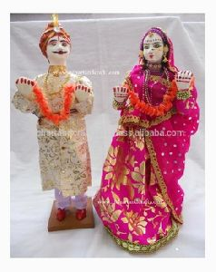 Unique Indian Handmade cloth Doll