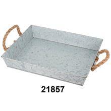 Galvanized Metal Tray
