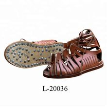 Roman Medieval Leather Caligae Sandals