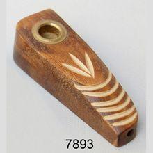 Wood Smoking Pipe