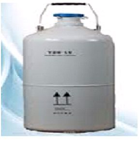 CRYOGENIC CONTAINER FOR EMBRYO AND SPERM STORAGE