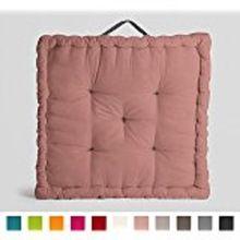 Beautiful Meditation Cushion Plain Cushion Filled Pouf Decorative Floor Cushion