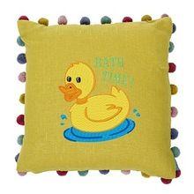 Screen Print Cotton Cushion Cover