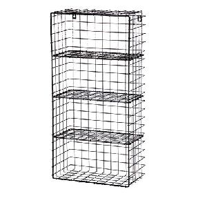 Wire Metal Wall Rack