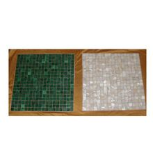 Malachite And Mother Of Pearl Tile