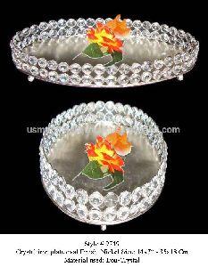 Iron crystal tray