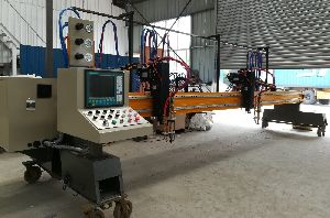 Cnc Plasma/flame Cutting Machine (heavy Gantry Type)