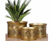 Brass Garden Decorative Plant Pot