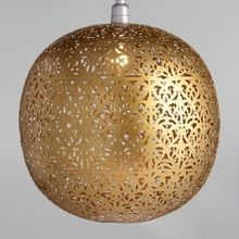 Brass Hanging Pendant Light