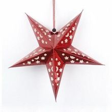 Christmas Decorative Red Star