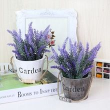 Decorative Wood Garden Bucket