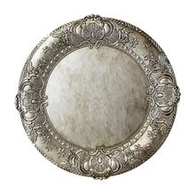 Embossed Round Wedding Charger Plates