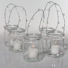 Glass Candle Jar