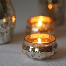 Glass Candle Tea Light