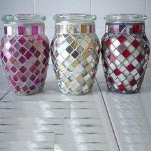 Mosaic Candle Jar