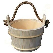 Wooden Flower Bucket