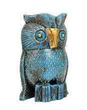 Handmade Decorative Wooden Owl