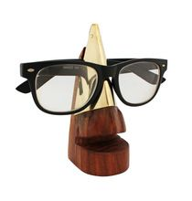 Store Indya Unique Hand Crafted Wooden Spectacle Holder