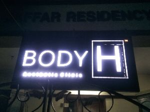 Led Acp Glow Sign Boards