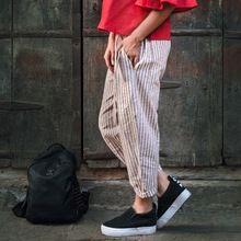 western linen casual pants