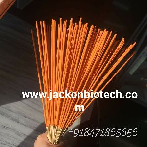 Orance colour shining incense stick (import from china)