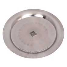 Stainless Steel Round Plate Tray