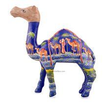 Handmade Papier Mache Camels