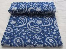 Hand Block Printed Fabric Cotton Fabric