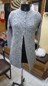 Ladies Long Cardigan
