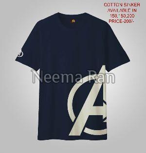 Boys Printed T-shirts (avengers)