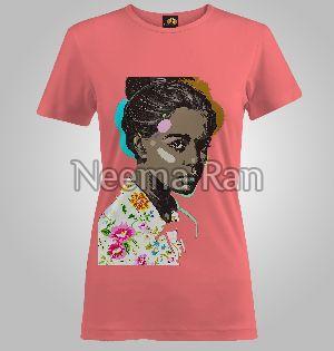 Girls Printed T-shirts ( Big Girl )