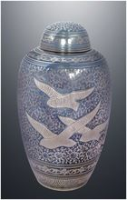 Domtop Going Home Brass Cremation Urn