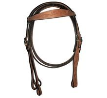 Leather Headstall And Breastplate Horse Bridles