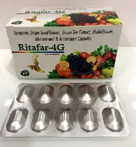 Lycopene+green Tea Extract+   Grape Seed Extract+multivitamin+ Multimineral+ Antioxidant